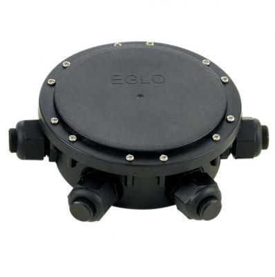 Eglo CONNECTOR BOX 91207 зап. частиУличные блоки<br><br><br>Тип цоколя: -<br>Диаметр, мм мм: 155<br>Высота, мм: 50<br>Цвет арматуры: черный<br>Общая мощность, Вт: 0