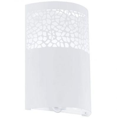 Eglo CARMELIA 91416 Настенно-потолочный светильникНакладные<br>Австрийское качество модели светильника Eglo 91416 не оставит равнодушным каждого купившего!.<br><br>S освещ. до, м2: 2<br>Крепление: настенное<br>Тип цоколя: E14<br>Количество ламп: 1<br>MAX мощность ламп, Вт: 2<br>Размеры основания, мм: 0<br>Длина, мм: 180<br>Расстояние от стены, мм: 80<br>Высота, мм: 250<br>Цвет арматуры: белый<br>Общая мощность, Вт: 1X42W
