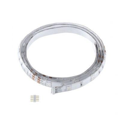 Eglo LED STRIPES-MODULE 92369 Светодиодная лентаЛента 5050<br>В интернет-магазине «Светодом» можно купить не только люстры и светильники, но и лампочки. В нашем каталоге представлены светодиодные, галогенные, энергосберегающие модели и лампы накаливания. В ассортименте имеются изделия разной мощности, поэтому у нас Вы сможете приобрести все необходимое для освещения.   Лампа Eglo 92369 обеспечит отличное качество освещения. При покупке ознакомьтесь с параметрами в разделе «Характеристики», чтобы не ошибиться в выборе. Там же указано, для каких осветительных приборов Вы можете использовать лампу Eglo 92369Eglo 92369.   Для оформления покупки воспользуйтесь «Корзиной». При наличии вопросов Вы можете позвонить нашим менеджерам по одному из контактных номеров. Мы доставляем заказы в Москву, Екатеринбург и другие города России.<br><br>Тип лампы: LED - светодиодная<br>Тип цоколя: LED<br>Ширина, мм: 10<br>MAX мощность ламп, Вт: 36<br>Длина, мм: 5000