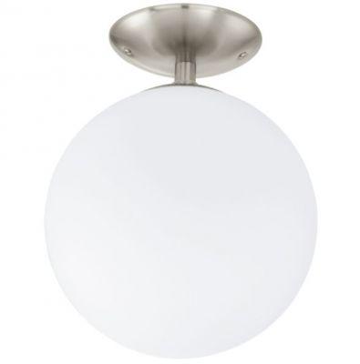 Eglo RONDO 91589 Настенно-потолочный светильникПотолочные<br>Компания «Светодом» предлагает широкий ассортимент люстр от известных производителей. Представленные в нашем каталоге товары выполнены из современных материалов и обладают отличным качеством. Благодаря широкому ассортименту Вы сможете найти у нас люстру под любой интерьер. Мы предлагаем как классические варианты, так и современные модели, отличающиеся лаконичностью и простотой форм.  Стильная люстра Eglo 91589 станет украшением любого дома. Эта модель от известного производителя не оставит равнодушным ценителей красивых и оригинальных предметов интерьера. Люстра Eglo 91589 обеспечит равномерное распределение света по всей комнате. При выборе обратите внимание на характеристики, позволяющие приобрести наиболее подходящую модель. Купить понравившуюся люстру по доступной цене Вы можете в интернет-магазине «Светодом».<br><br>Установка на натяжной потолок: Да<br>S освещ. до, м2: 2<br>Крепление: Планка<br>Тип цоколя: E27<br>Цвет арматуры: серый<br>Количество ламп: 1<br>Диаметр, мм мм: 250<br>Размеры основания, мм: 0<br>Высота, мм: 315<br>Оттенок (цвет): белый<br>MAX мощность ламп, Вт: 60<br>Общая мощность, Вт: 1X60W