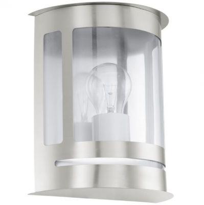 Eglo DARIL 30173 светильник уличныйНастенные<br>Обеспечение качественного уличного освещения – важная задача для владельцев коттеджей. Компания «Светодом» предлагает современные светильники, которые порадуют Вас отличным исполнением. В нашем каталоге представлена продукция известных производителей, пользующихся популярностью благодаря высокому качеству выпускаемых товаров.   Уличный светильник Eglo 30173 не просто обеспечит качественное освещение, но и станет украшением Вашего участка. Модель выполнена из современных материалов и имеет влагозащитный корпус, благодаря которому ей не страшны осадки.   Купить уличный светильник Eglo 30173, представленный в нашем каталоге, можно с помощью онлайн-формы для заказа. Чтобы задать имеющиеся вопросы, звоните нам по указанным телефонам. Мы доставим Ваш заказ не только в Москву и Екатеринбург, но и другие города.<br><br>Крепление: настенное<br>Тип цоколя: E27<br>Количество ламп: 1<br>MAX мощность ламп, Вт: 60<br>Длина, мм: 195<br>Расстояние от стены, мм: 110<br>Высота, мм: 240<br>Оттенок (цвет): прозрачный<br>Цвет арматуры: серебристый<br>Общая мощность, Вт: 2