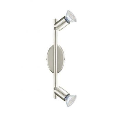 Eglo BUZZ-LED 92596 Светильник поворотный спотДвойные<br>Светильники-споты – это оригинальные изделия с современным дизайном. Они позволяют не ограничивать свою фантазию при выборе освещения для интерьера. Такие модели обеспечивают достаточно качественный свет. Благодаря компактным размерам Вы можете использовать несколько спотов для одного помещения.  Интернет-магазин «Светодом» предлагает необычный светильник-спот Eglo 92596 по привлекательной цене. Эта модель станет отличным дополнением к люстре, выполненной в том же стиле. Перед оформлением заказа изучите характеристики изделия.  Купить светильник-спот Eglo 92596 в нашем онлайн-магазине Вы можете либо с помощью формы на сайте, либо по указанным выше телефонам. Обратите внимание, что у нас склады не только в Москве и Екатеринбурге, но и других городах России.<br><br>S освещ. до, м2: 2<br>Крепление: потолочное<br>Цветовая t, К: 3000 (теплый белый)<br>Тип лампы: галогенная / LED-светодиодная<br>Тип цоколя: GU10<br>Цвет арматуры: серый<br>Количество ламп: 2<br>Ширина, мм: 65<br>Размеры основания, мм: 0<br>Длина, мм: 285<br>MAX мощность ламп, Вт: 2,5<br>Общая мощность, Вт: 2X3W