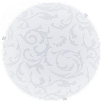 Eglo MARS 91236 Настенно-потолочный светильникКруглые<br>Настенно-потолочные светильники – это универсальные осветительные варианты, которые подходят для вертикального и горизонтального монтажа. В интернет-магазине «Светодом» Вы можете приобрести подобные модели по выгодной стоимости. В нашем каталоге представлены как бюджетные варианты, так и эксклюзивные изделия от производителей, которые уже давно заслужили доверие дизайнеров и простых покупателей.  Настенно-потолочный светильник Eglo 91236 станет прекрасным дополнением к основному освещению. Благодаря качественному исполнению и применению современных технологий при производстве эта модель будет радовать Вас своим привлекательным внешним видом долгое время. Приобрести настенно-потолочный светильник Eglo 91236 можно, находясь в любой точке России.<br><br>S освещ. до, м2: 2<br>Крепление: потолочное<br>Тип цоколя: E27<br>Цвет арматуры: белый<br>Количество ламп: 1<br>Диаметр, мм мм: 250<br>Размеры основания, мм: 0<br>Оттенок (цвет): белый с декором<br>MAX мощность ламп, Вт: 2<br>Общая мощность, Вт: 1X60W