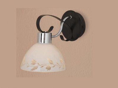 Citilux Фуга CL154311 Светильник настенный браМодерн<br><br><br>S освещ. до, м2: 5<br>Тип лампы: накаливания / энергосбережения / LED-светодиодная<br>Тип цоколя: E27<br>Количество ламп: 1<br>Ширина, мм: 170<br>MAX мощность ламп, Вт: 75<br>Размеры: Высота 23 см. Габариты 25х17 см.<br>Длина, мм: 250<br>Высота, мм: 230<br>Оттенок (цвет): белый<br>Цвет арматуры: серебристый хром, венге