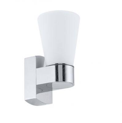 Eglo CAILIN 91988 Настенно-потолочный светильникХай-тек<br>Австрийское качество модели светильника Eglo 91988 не оставит равнодушным каждого купившего! Основание из литого алюминия, прорезиненные и силиконовые уплотнители, защита от коррозии металлов, термостойкое стекло, температурный режим использования от -25 до +80.<br><br>S освещ. до, м2: 2<br>Крепление: настенное<br>Тип товара: Настенно-потолочный светильник<br>Скидка, %: 59<br>Тип цоколя: G9<br>Количество ламп: 1<br>MAX мощность ламп, Вт: 2<br>Размеры основания, мм: 0<br>Длина, мм: 90<br>Расстояние от стены, мм: 115<br>Высота, мм: 185<br>Оттенок (цвет): белый<br>Цвет арматуры: серебристый<br>Общая мощность, Вт: 1X33W