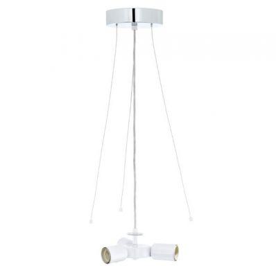 Eglo My choice 92397 Люстра подвеснаяТройные<br>Австрийское качество модели светильника Eglo 92397 не оставит равнодушным каждого купившего!.<br><br>S освещ. до, м2: 12<br>Крепление: потолочное<br>Тип лампы: накаливания / энергосбережения / LED-светодиодная<br>Тип цоколя: E27<br>Количество ламп: 3<br>MAX мощность ламп, Вт: 60<br>Диаметр, мм мм: 150<br>Высота, мм: 1100<br>Цвет арматуры: серебристый