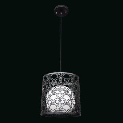 Люстра Модерн 2-4930-1-BK E27 МаксисветОжидается<br>Одиночный подвес 4930 идеально подойдет для освещения кухонь или холлов квартир.<br>Внешний декоративный абажур имеет диаметр 250 мм, благодаря чему, светильник будет отлично смотреться как самостоятельный источник света в помещении.<br>Стилевые решения интерьера: контемпорари<br>Тип помещения: кухня, холл.<br><br>S освещ. до, м2: 3<br>Тип цоколя: E27<br>Цвет арматуры: Черный<br>Количество ламп: 1<br>Ширина, мм: 250<br>Высота полная, мм: 900<br>Длина, мм: 250<br>Оттенок (цвет): Полупрозрачный, Матовый, Белый, Черный