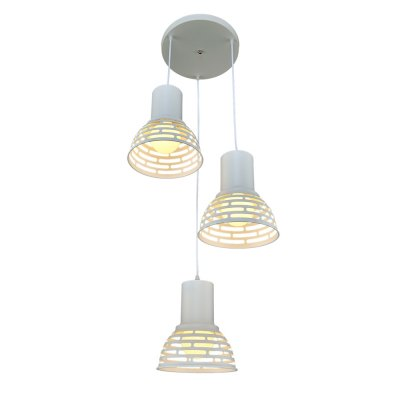 Люстра Модерн 2-4981-3-WH E27 МаксисветОжидается<br><br><br>S освещ. до, м2: 9<br>Тип цоколя: E27<br>Цвет арматуры: Белый<br>Количество ламп: 3<br>Ширина, мм: 430<br>Высота полная, мм: 1060<br>Длина, мм: 430<br>Оттенок (цвет): Белый