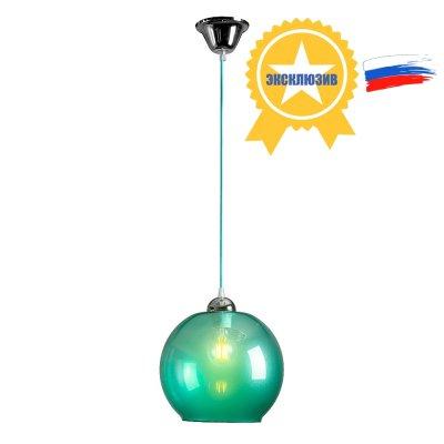 Люстра Стиляги 2-5580-1-CR E27 МаксисветОжидается<br><br><br>S освещ. до, м2: 3<br>Тип цоколя: E27<br>Цвет арматуры: Хром<br>Количество ламп: 1<br>Ширина, мм: 245<br>Высота полная, мм: 1050<br>Длина, мм: 245<br>Оттенок (цвет): Синий