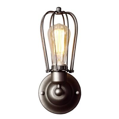 Светильник настенный Divinare 2001/01 AP-1Морской стиль<br><br><br>Тип лампы: Накаливания / энергосбережения / светодиодная<br>Тип цоколя: E27<br>Количество ламп: 1<br>MAX мощность ламп, Вт: 40<br>Диаметр, мм мм: 120<br>Длина, мм: 140<br>Высота, мм: 300<br>Цвет арматуры: серый