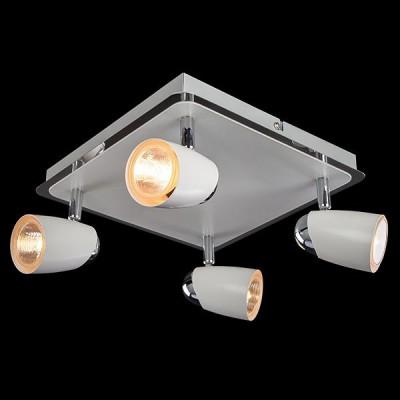 Светильник Евросвет 20021/4 хром/белыйС 4 лампами<br>Светильники-споты – это оригинальные изделия с современным дизайном. Они позволяют не ограничивать свою фантазию при выборе освещения для интерьера. Такие модели обеспечивают достаточно качественный свет. Благодаря компактным размерам Вы можете использовать несколько спотов для одного помещения. <br>Интернет-магазин «Светодом» предлагает необычный светильник-спот Евросвет 20021/4 по привлекательной цене. Эта модель станет отличным дополнением к люстре, выполненной в том же стиле. Перед оформлением заказа изучите характеристики изделия. <br>Купить светильник-спот Евросвет 20021/4 в нашем онлайн-магазине Вы можете либо с помощью формы на сайте, либо по указанным выше телефонам. Обратите внимание, что мы предлагаем доставку не только по Москве и Екатеринбургу, но и всем остальным российским городам.<br><br>Тип лампы: галогенная/LED<br>Тип цоколя: GU5.3<br>Количество ламп: 4<br>Ширина, мм: 250<br>MAX мощность ламп, Вт: 50<br>Длина, мм: 250<br>Высота, мм: 130<br>Цвет арматуры: белый