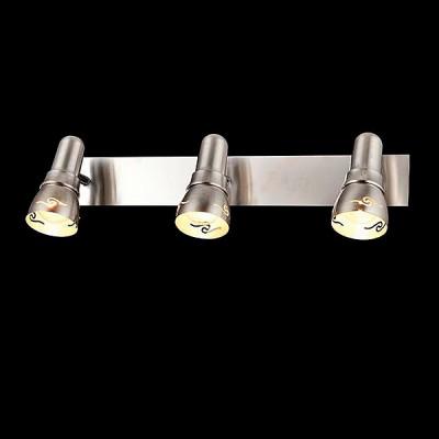 Светильник Евросвет 20022/3 сатин-никельТройные<br>Светильники-споты – это оригинальные изделия с современным дизайном. Они позволяют не ограничивать свою фантазию при выборе освещения для интерьера. Такие модели обеспечивают достаточно качественный свет. Благодаря компактным размерам Вы можете использовать несколько спотов для одного помещения.  Интернет-магазин «Светодом» предлагает необычный светильник-спот Евросвет 20022/3 по привлекательной цене. Эта модель станет отличным дополнением к люстре, выполненной в том же стиле. Перед оформлением заказа изучите характеристики изделия.  Купить светильник-спот Евросвет 20022/3 в нашем онлайн-магазине Вы можете либо с помощью формы на сайте, либо по указанным выше телефонам. Обратите внимание, что у нас склады не только в Москве и Екатеринбурге, но и других городах России.<br><br>S освещ. до, м2: 6<br>Тип лампы: Накаливания / энергосбережения / светодиодная<br>Тип цоколя: E14<br>Цвет арматуры: серебристый<br>Количество ламп: 3<br>Ширина, мм: 130<br>Длина, мм: 460<br>Высота, мм: 115<br>MAX мощность ламп, Вт: 40
