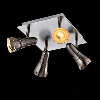 Светильник Евросвет 20022/4 сатин-никельС 4 лампами<br>Светильники-споты – это оригинальные изделия с современным дизайном. Они позволяют не ограничивать свою фантазию при выборе освещения для интерьера. Такие модели обеспечивают достаточно качественный свет. Благодаря компактным размерам Вы можете использовать несколько спотов для одного помещения.  Интернет-магазин «Светодом» предлагает необычный светильник-спот Евросвет 20022/4 по привлекательной цене. Эта модель станет отличным дополнением к люстре, выполненной в том же стиле. Перед оформлением заказа изучите характеристики изделия.  Купить светильник-спот Евросвет 20022/4 в нашем онлайн-магазине Вы можете либо с помощью формы на сайте, либо по указанным выше телефонам. Обратите внимание, что у нас склады не только в Москве и Екатеринбурге, но и других городах России.<br><br>S освещ. до, м2: 8<br>Тип лампы: Накаливания / энергосбережения / светодиодная<br>Тип цоколя: E14<br>Цвет арматуры: серебристый<br>Количество ламп: 4<br>Ширина, мм: 300<br>Длина, мм: 300<br>Высота, мм: 150<br>MAX мощность ламп, Вт: 40
