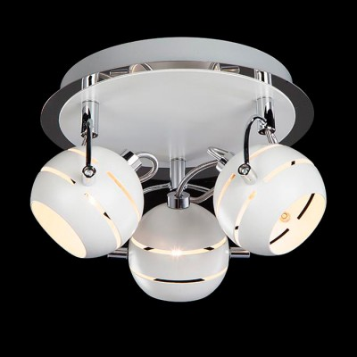 Светильник Евросвет 20024/3 хром/белыйТройные<br>Светильники-споты – это оригинальные изделия с современным дизайном. Они позволяют не ограничивать свою фантазию при выборе освещения для интерьера. Такие модели обеспечивают достаточно качественный свет. Благодаря компактным размерам Вы можете использовать несколько спотов для одного помещения.  Интернет-магазин «Светодом» предлагает необычный светильник-спот Евросвет 20024/3 по привлекательной цене. Эта модель станет отличным дополнением к люстре, выполненной в том же стиле. Перед оформлением заказа изучите характеристики изделия.  Купить светильник-спот Евросвет 20024/3 в нашем онлайн-магазине Вы можете либо с помощью формы на сайте, либо по указанным выше телефонам. Обратите внимание, что у нас склады не только в Москве и Екатеринбурге, но и других городах России.<br><br>Тип лампы: галогенная/LED<br>Тип цоколя: G9<br>Количество ламп: 3<br>MAX мощность ламп, Вт: 40<br>Диаметр, мм мм: 230<br>Высота, мм: 165<br>Цвет арматуры: белый