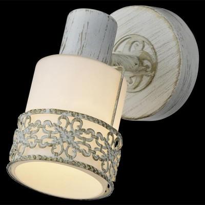 Светильник Евросвет 20025/1 белый с золотомОдиночные<br><br><br>Тип товара: Бра<br>Цветовая t, К: 2400-2800<br>Тип лампы: накаливания / энергосберегающая / светодиодная<br>Тип цоколя: E14<br>Количество ламп: 1<br>Ширина, мм: 80<br>Длина, мм: 160<br>Высота, мм: 180<br>Поверхность арматуры: матовый<br>Цвет арматуры: белый
