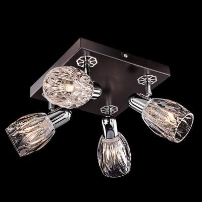 Светильник Евросвет 20028/4 хром/венгеС 4 лампами<br>Светильники-споты – это оригинальные изделия с современным дизайном. Они позволяют не ограничивать свою фантазию при выборе освещения для интерьера. Такие модели обеспечивают достаточно качественный свет. Благодаря компактным размерам Вы можете использовать несколько спотов для одного помещения.  Интернет-магазин «Светодом» предлагает необычный светильник-спот Евросвет 20028/4 по привлекательной цене. Эта модель станет отличным дополнением к люстре, выполненной в том же стиле. Перед оформлением заказа изучите характеристики изделия.  Купить светильник-спот Евросвет 20028/4 в нашем онлайн-магазине Вы можете либо с помощью формы на сайте, либо по указанным выше телефонам. Обратите внимание, что у нас склады не только в Москве и Екатеринбурге, но и других городах России.<br><br>S освещ. до, м2: 8<br>Тип лампы: Накаливания / энергосбережения / светодиодная<br>Тип цоколя: E14<br>Цвет арматуры: серебристый<br>Количество ламп: 4<br>Ширина, мм: 320<br>Длина, мм: 320<br>Высота, мм: 160<br>MAX мощность ламп, Вт: 40