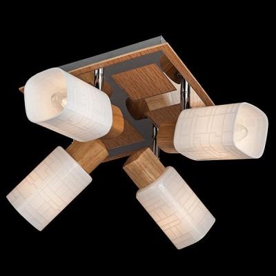 Светильник Евросвет 20029/4 хром/светлое дереволюстры поворотные<br>Компания «Светодом» предлагает широкий ассортимент люстр от известных производителей. Представленные в нашем каталоге товары выполнены из современных материалов и обладают отличным качеством. Благодаря широкому ассортименту Вы сможете найти у нас люстру под любой интерьер. Мы предлагаем как классические варианты, так и современные модели, отличающиеся лаконичностью и простотой форм. <br>Стильная люстра Евросвет 20029/4 станет украшением любого дома. Эта модель от известного производителя не оставит равнодушным ценителей красивых и оригинальных предметов интерьера. Люстра Евросвет 20029/4 обеспечит равномерное распределение света по всей комнате. При выборе обратите внимание на характеристики, позволяющие приобрести наиболее подходящую модель. <br>Купить понравившуюся люстру по доступной цене Вы можете в интернет-магазине «Светодом».<br><br>Установка на натяжной потолок: Ограничено<br>S освещ. до, м2: 8<br>Крепление: Планка<br>Тип лампы: Накаливания / энергосбережения / светодиодная<br>Тип цоколя: E14<br>Цвет арматуры: серебристый<br>Количество ламп: 4<br>Ширина, мм: 220<br>Длина, мм: 220<br>Высота, мм: 150<br>MAX мощность ламп, Вт: 40