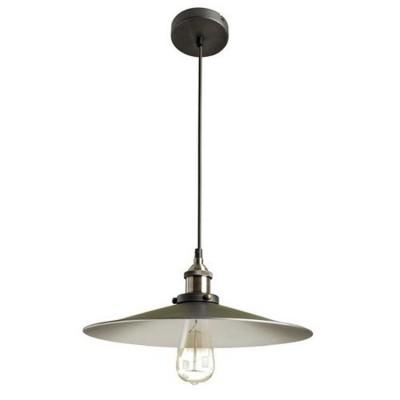 Светильник подвесной Divinare 2003/15 SP-1одиночные подвесные светильники<br><br><br>Диаметр, мм мм: 360<br>Высота полная, мм: 1200<br>Высота, мм: 150<br>Оттенок (цвет): черный / зеленый<br>MAX мощность ламп, Вт: 60
