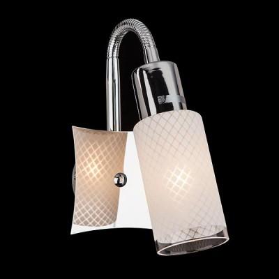 Светильник Евросвет 20030/1 хромГибкие<br><br><br>Тип лампы: Накаливания / энергосбережения / светодиодная<br>Тип цоколя: E14<br>Количество ламп: 1<br>Ширина, мм: 200<br>MAX мощность ламп, Вт: 40<br>Длина, мм: 80<br>Высота, мм: 180<br>Цвет арматуры: серебристый
