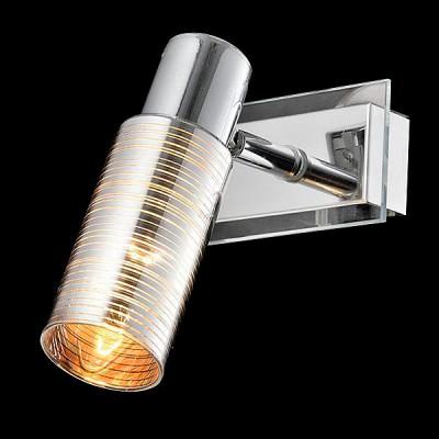 Светильник Евросвет 20035/1 хромМодерн<br><br><br>Тип лампы: Накаливания / энергосбережения / светодиодная<br>Тип цоколя: E14<br>Количество ламп: 1<br>Ширина, мм: 160<br>MAX мощность ламп, Вт: 40<br>Длина, мм: 100<br>Высота, мм: 160<br>Цвет арматуры: серебристый