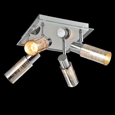 Светильник Евросвет 20035/4 хромС 4 лампами<br>Светильники-споты – это оригинальные изделия с современным дизайном. Они позволяют не ограничивать свою фантазию при выборе освещения для интерьера. Такие модели обеспечивают достаточно качественный свет. Благодаря компактным размерам Вы можете использовать несколько спотов для одного помещения.  Интернет-магазин «Светодом» предлагает необычный светильник-спот Евросвет 20035/4 по привлекательной цене. Эта модель станет отличным дополнением к люстре, выполненной в том же стиле. Перед оформлением заказа изучите характеристики изделия.  Купить светильник-спот Евросвет 20035/4 в нашем онлайн-магазине Вы можете либо с помощью формы на сайте, либо по указанным выше телефонам. Обратите внимание, что у нас склады не только в Москве и Екатеринбурге, но и других городах России.<br><br>S освещ. до, м2: 8<br>Тип лампы: Накаливания / энергосбережения / светодиодная<br>Тип цоколя: E14<br>Цвет арматуры: серебристый<br>Количество ламп: 4<br>Ширина, мм: 320<br>Длина, мм: 320<br>Высота, мм: 160<br>MAX мощность ламп, Вт: 40