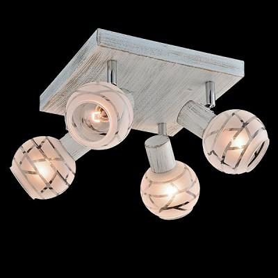 Светильник Евросвет 20036/4 белый с золотом/хромС 4 лампами<br>Светильники-споты – это оригинальные изделия с современным дизайном. Они позволяют не ограничивать свою фантазию при выборе освещения для интерьера. Такие модели обеспечивают достаточно качественный свет. Благодаря компактным размерам Вы можете использовать несколько спотов для одного помещения.  Интернет-магазин «Светодом» предлагает необычный светильник-спот Евросвет 20036/4 по привлекательной цене. Эта модель станет отличным дополнением к люстре, выполненной в том же стиле. Перед оформлением заказа изучите характеристики изделия.  Купить светильник-спот Евросвет 20036/4 в нашем онлайн-магазине Вы можете либо с помощью формы на сайте, либо по указанным выше телефонам. Обратите внимание, что у нас склады не только в Москве и Екатеринбурге, но и других городах России.<br><br>S освещ. до, м2: 8<br>Тип лампы: Накаливания / энергосбережения / светодиодная<br>Тип цоколя: E14<br>Цвет арматуры: белый с золотистой патиной<br>Количество ламп: 4<br>Ширина, мм: 280<br>Длина, мм: 280<br>Высота, мм: 150<br>MAX мощность ламп, Вт: 40