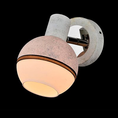 Светильник Евросвет 20037/1 хром/серыйОдиночные<br><br><br>Тип лампы: Накаливания / энергосбережения / светодиодная<br>Тип цоколя: E14<br>Количество ламп: 1<br>Ширина, мм: 170<br>MAX мощность ламп, Вт: 40<br>Длина, мм: 100<br>Высота, мм: 160<br>Цвет арматуры: серебристый