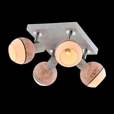 Поворотный светильник Евросвет 20037/4 хром/серый от Svetodom