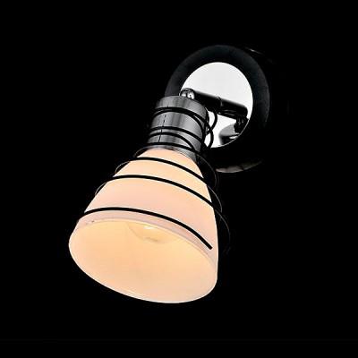 Светильник Евросвет 20038/1 хром/венгеСовременные<br><br><br>Тип лампы: Накаливания / энергосбережения / светодиодная<br>Тип цоколя: E14<br>Цвет арматуры: серебристый<br>Количество ламп: 1<br>Ширина, мм: 170<br>Длина, мм: 100<br>Высота, мм: 180<br>MAX мощность ламп, Вт: 40