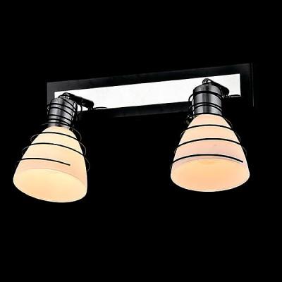Светильник Евросвет 20038/2 хром/венгеДвойные<br>Светильники-споты – это оригинальные изделия с современным дизайном. Они позволяют не ограничивать свою фантазию при выборе освещения для интерьера. Такие модели обеспечивают достаточно качественный свет. Благодаря компактным размерам Вы можете использовать несколько спотов для одного помещения.  Интернет-магазин «Светодом» предлагает необычный светильник-спот Евросвет 20038/2 по привлекательной цене. Эта модель станет отличным дополнением к люстре, выполненной в том же стиле. Перед оформлением заказа изучите характеристики изделия.  Купить светильник-спот Евросвет 20038/2 в нашем онлайн-магазине Вы можете либо с помощью формы на сайте, либо по указанным выше телефонам. Обратите внимание, что мы предлагаем доставку не только по Москве и Екатеринбургу, но и всем остальным российским городам.<br><br>Тип лампы: Накаливания / энергосбережения / светодиодная<br>Тип цоколя: E14<br>Количество ламп: 2<br>Ширина, мм: 150<br>MAX мощность ламп, Вт: 40<br>Длина, мм: 350<br>Высота, мм: 190<br>Цвет арматуры: серебристый