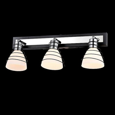 Светильник Евросвет 20038/3 хром/венгеТройные<br>Светильники-споты – это оригинальные изделия с современным дизайном. Они позволяют не ограничивать свою фантазию при выборе освещения для интерьера. Такие модели обеспечивают достаточно качественный свет. Благодаря компактным размерам Вы можете использовать несколько спотов для одного помещения.  Интернет-магазин «Светодом» предлагает необычный светильник-спот Евросвет 20038/3 по привлекательной цене. Эта модель станет отличным дополнением к люстре, выполненной в том же стиле. Перед оформлением заказа изучите характеристики изделия.  Купить светильник-спот Евросвет 20038/3 в нашем онлайн-магазине Вы можете либо с помощью формы на сайте, либо по указанным выше телефонам. Обратите внимание, что у нас склады не только в Москве и Екатеринбурге, но и других городах России.<br><br>S освещ. до, м2: 6<br>Тип лампы: Накаливания / энергосбережения / светодиодная<br>Тип цоколя: E14<br>Цвет арматуры: серебристый<br>Количество ламп: 3<br>Ширина, мм: 150<br>Длина, мм: 530<br>Высота, мм: 190<br>MAX мощность ламп, Вт: 40