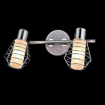 Светильник Евросвет 20039/2 хром/серыйДвойные<br>Светильники-споты – это оригинальные изделия с современным дизайном. Они позволяют не ограничивать свою фантазию при выборе освещения для интерьера. Такие модели обеспечивают достаточно качественный свет. Благодаря компактным размерам Вы можете использовать несколько спотов для одного помещения.  Интернет-магазин «Светодом» предлагает необычный светильник-спот Евросвет 20039/2 по привлекательной цене. Эта модель станет отличным дополнением к люстре, выполненной в том же стиле. Перед оформлением заказа изучите характеристики изделия.  Купить светильник-спот Евросвет 20039/2 в нашем онлайн-магазине Вы можете либо с помощью формы на сайте, либо по указанным выше телефонам. Обратите внимание, что у нас склады не только в Москве и Екатеринбурге, но и других городах России.<br><br>S освещ. до, м2: 4<br>Тип лампы: Накаливания / энергосбережения / светодиодная<br>Тип цоколя: E14<br>Цвет арматуры: серебристый<br>Количество ламп: 2<br>Ширина, мм: 190<br>Длина, мм: 300<br>Высота, мм: 170<br>MAX мощность ламп, Вт: 40