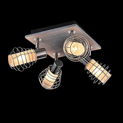 Светильник Евросвет 20039/4 хром/серыйПотолочные<br>Компания «Светодом» предлагает широкий ассортимент люстр от известных производителей. Представленные в нашем каталоге товары выполнены из современных материалов и обладают отличным качеством. Благодаря широкому ассортименту Вы сможете найти у нас люстру под любой интерьер. Мы предлагаем как классические варианты, так и современные модели, отличающиеся лаконичностью и простотой форм. <br>Стильная люстра Евросвет 20039/4 станет украшением любого дома. Эта модель от известного производителя не оставит равнодушным ценителей красивых и оригинальных предметов интерьера. Люстра Евросвет 20039/4 обеспечит равномерное распределение света по всей комнате. При выборе обратите внимание на характеристики, позволяющие приобрести наиболее подходящую модель. <br>Купить понравившуюся люстру по доступной цене Вы можете в интернет-магазине «Светодом». Мы предлагаем доставку не только по Москве и Екатеринбурге, но и по всей России.<br><br>Установка на натяжной потолок: Ограничено<br>S освещ. до, м2: 8<br>Крепление: Планка<br>Тип лампы: Накаливания / энергосбережения / светодиодная<br>Тип цоколя: E14<br>Количество ламп: 4<br>Ширина, мм: 320<br>MAX мощность ламп, Вт: 40<br>Длина, мм: 320<br>Высота, мм: 180<br>Цвет арматуры: серебристый