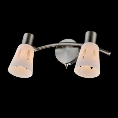 Светильник Евросвет 20041/2 сатин-никельДвойные<br>Светильники-споты – это оригинальные изделия с современным дизайном. Они позволяют не ограничивать свою фантазию при выборе освещения для интерьера. Такие модели обеспечивают достаточно качественный свет. Благодаря компактным размерам Вы можете использовать несколько спотов для одного помещения.  Интернет-магазин «Светодом» предлагает необычный светильник-спот Евросвет 20041/2 по привлекательной цене. Эта модель станет отличным дополнением к люстре, выполненной в том же стиле. Перед оформлением заказа изучите характеристики изделия.  Купить светильник-спот Евросвет 20041/2 в нашем онлайн-магазине Вы можете либо с помощью формы на сайте, либо по указанным выше телефонам. Обратите внимание, что у нас склады не только в Москве и Екатеринбурге, но и других городах России.<br><br>S освещ. до, м2: 4<br>Тип лампы: Накаливания / энергосбережения / светодиодная<br>Тип цоколя: E14<br>Количество ламп: 2<br>Ширина, мм: 170<br>Длина, мм: 310<br>Высота, мм: 160<br>MAX мощность ламп, Вт: 40