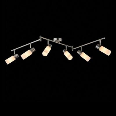 Светильник Евросвет 20043/6 сатин-никельБолее 5 ламп<br>Светильники-споты – это оригинальные изделия с современным дизайном. Они позволяют не ограничивать свою фантазию при выборе освещения для интерьера. Такие модели обеспечивают достаточно качественный свет. Благодаря компактным размерам Вы можете использовать несколько спотов для одного помещения.  Интернет-магазин «Светодом» предлагает необычный светильник-спот Евросвет 20043/6 по привлекательной цене. Эта модель станет отличным дополнением к люстре, выполненной в том же стиле. Перед оформлением заказа изучите характеристики изделия.  Купить светильник-спот Евросвет 20043/6 в нашем онлайн-магазине Вы можете либо с помощью формы на сайте, либо по указанным выше телефонам. Обратите внимание, что у нас склады не только в Москве и Екатеринбурге, но и других городах России.<br><br>S освещ. до, м2: 12<br>Тип лампы: Накаливания / энергосбережения / светодиодная<br>Тип цоколя: E14<br>Количество ламп: 6<br>Ширина, мм: 550<br>Длина, мм: 1200<br>Высота, мм: 180<br>MAX мощность ламп, Вт: 40