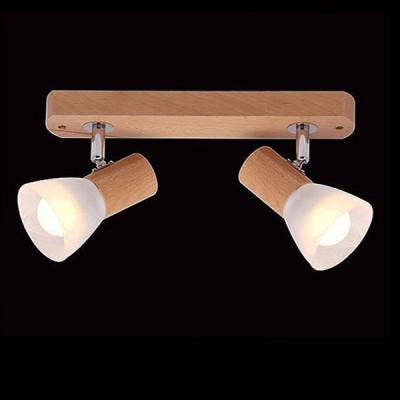 Евросвет 20045/2 светлое деревоДвойные<br><br><br>Тип лампы: Накаливания / энергосбережения / светодиодная<br>Тип цоколя: E14<br>Количество ламп: 2<br>Ширина, мм: 260<br>MAX мощность ламп, Вт: 40<br>Длина, мм: 65<br>Высота, мм: 130