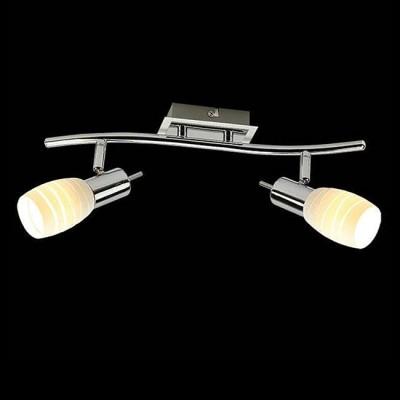Евросвет 20046/2 хром/белыйДвойные<br><br><br>S освещ. до, м2: 4<br>Тип лампы: Накаливания / энергосбережения / светодиодная<br>Тип цоколя: E14<br>Количество ламп: 2<br>Ширина, мм: 70<br>Длина, мм: 276<br>Высота, мм: 133<br>MAX мощность ламп, Вт: 40