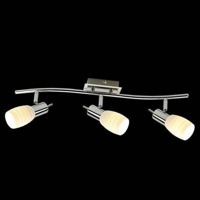 Евросвет 20046/3 хром/белыйТройные<br>Светильники-споты – это оригинальные изделия с современным дизайном. Они позволяют не ограничивать свою фантазию при выборе освещения для интерьера. Такие модели обеспечивают достаточно качественный свет. Благодаря компактным размерам Вы можете использовать несколько спотов для одного помещения.  Интернет-магазин «Светодом» предлагает необычный светильник-спот Евросвет 20046/3 по привлекательной цене. Эта модель станет отличным дополнением к люстре, выполненной в том же стиле. Перед оформлением заказа изучите характеристики изделия.  Купить светильник-спот Евросвет 20046/3 в нашем онлайн-магазине Вы можете либо с помощью формы на сайте, либо по указанным выше телефонам. Обратите внимание, что у нас склады не только в Москве и Екатеринбурге, но и других городах России.<br><br>S освещ. до, м2: 6<br>Тип лампы: Накаливания / энергосбережения / светодиодная<br>Тип цоколя: E14<br>Количество ламп: 3<br>Ширина, мм: 70<br>Длина, мм: 410<br>Высота, мм: 130<br>MAX мощность ламп, Вт: 40
