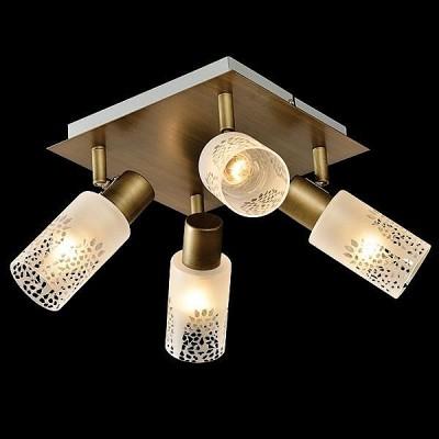 Светильник Евросвет 20047/4 патинированная бронзаС 4 лампами<br>Светильники-споты – это оригинальные изделия с современным дизайном. Они позволяют не ограничивать свою фантазию при выборе освещения для интерьера. Такие модели обеспечивают достаточно качественный свет. Благодаря компактным размерам Вы можете использовать несколько спотов для одного помещения.  Интернет-магазин «Светодом» предлагает необычный светильник-спот Евросвет 20047/4 по привлекательной цене. Эта модель станет отличным дополнением к люстре, выполненной в том же стиле. Перед оформлением заказа изучите характеристики изделия.  Купить светильник-спот Евросвет 20047/4 в нашем онлайн-магазине Вы можете либо с помощью формы на сайте, либо по указанным выше телефонам. Обратите внимание, что мы предлагаем доставку не только по Москве и Екатеринбургу, но и всем остальным российским городам.<br><br>Тип цоколя: E14<br>Количество ламп: 4<br>Ширина, мм: 320<br>MAX мощность ламп, Вт: 40<br>Длина, мм: 320<br>Высота, мм: 170