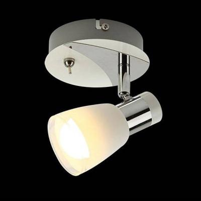 Евросвет 20048/1 белый/хромОдиночные<br><br><br>S освещ. до, м2: 2<br>Тип лампы: Накаливания / энергосбережения / светодиодная<br>Тип цоколя: E14<br>Количество ламп: 1<br>Ширина, мм: 120<br>Длина, мм: 120<br>Высота, мм: 125<br>MAX мощность ламп, Вт: 40