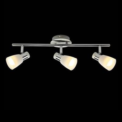 Евросвет 20048/3 белый/хромТройные<br><br><br>S освещ. до, м2: 6<br>Тип лампы: Накаливания / энергосбережения / светодиодная<br>Тип цоколя: E14<br>Количество ламп: 3<br>Ширина, мм: 70<br>Длина, мм: 410<br>Высота, мм: 130<br>MAX мощность ламп, Вт: 40