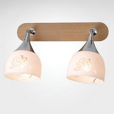 Евросвет 20051/2 светлое деревоДвойные<br><br><br>S освещ. до, м2: 4<br>Тип лампы: Накаливания / энергосбережения / светодиодная<br>Тип цоколя: E14<br>Количество ламп: 2<br>Ширина, мм: 190<br>Длина, мм: 300<br>Высота, мм: 200<br>MAX мощность ламп, Вт: 40