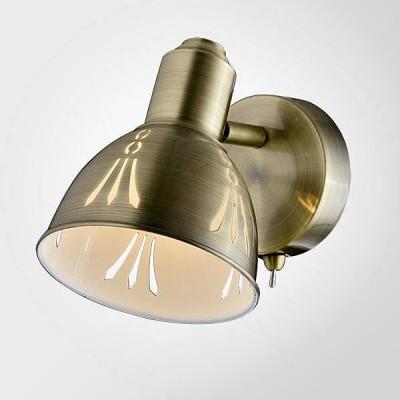 Евросвет 20052/1 античная бронзаодиночные споты<br><br><br>S освещ. до, м2: 2<br>Тип лампы: Накаливания / энергосбережения / светодиодная<br>Тип цоколя: E14<br>Цвет арматуры: бронзовый<br>Количество ламп: 1<br>Ширина, мм: 190<br>Длина, мм: 115<br>Высота, мм: 150<br>MAX мощность ламп, Вт: 40