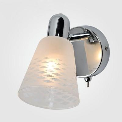 Светильник Евросвет 20053/1 хромСовременные<br><br><br>Тип лампы: Накаливания / энергосбережения / светодиодная<br>Тип цоколя: E14<br>Количество ламп: 1<br>Ширина, мм: 100<br>Длина, мм: 180<br>Высота, мм: 160<br>MAX мощность ламп, Вт: 40