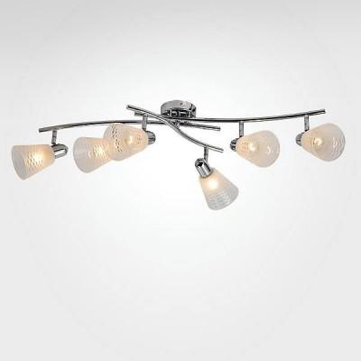 Евросвет 20053/6 хромБолее 5 ламп<br>Светильники-споты – это оригинальные изделия с современным дизайном. Они позволяют не ограничивать свою фантазию при выборе освещения для интерьера. Такие модели обеспечивают достаточно качественный свет. Благодаря компактным размерам Вы можете использовать несколько спотов для одного помещения.  Интернет-магазин «Светодом» предлагает необычный светильник-спот Евросвет 20053/6 по привлекательной цене. Эта модель станет отличным дополнением к люстре, выполненной в том же стиле. Перед оформлением заказа изучите характеристики изделия.  Купить светильник-спот Евросвет 20053/6 в нашем онлайн-магазине Вы можете либо с помощью формы на сайте, либо по указанным выше телефонам. Обратите внимание, что у нас склады не только в Москве и Екатеринбурге, но и других городах России.<br><br>S освещ. до, м2: 12<br>Тип лампы: Накаливания / энергосбережения / светодиодная<br>Тип цоколя: E14<br>Количество ламп: 6<br>Ширина, мм: 550<br>Длина, мм: 1200<br>Высота, мм: 190<br>MAX мощность ламп, Вт: 40