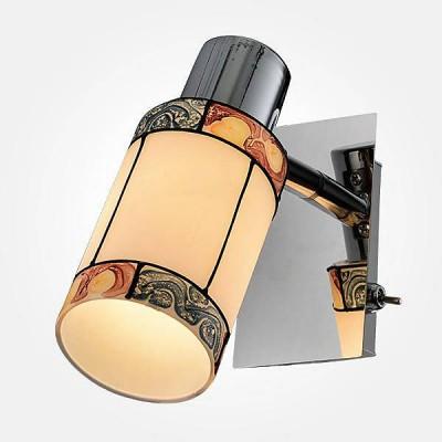 Евросвет 20054/1 хромОдиночные<br><br><br>S освещ. до, м2: 2<br>Тип лампы: Накаливания / энергосбережения / светодиодная<br>Тип цоколя: E14<br>Цвет арматуры: серебристый<br>Количество ламп: 1<br>Ширина, мм: 150<br>Расстояние от стены, мм: 60<br>Высота, мм: 150<br>MAX мощность ламп, Вт: 40