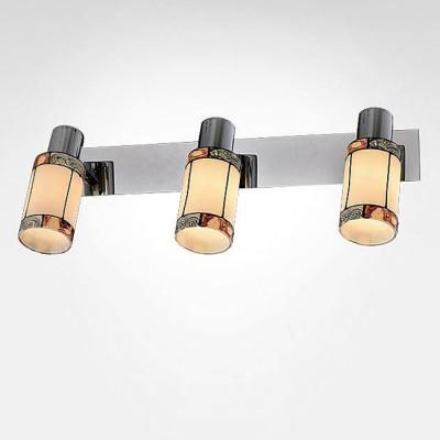 Евросвет 20054/3 хромТройные<br><br><br>S освещ. до, м2: 6<br>Тип лампы: Накаливания / энергосбережения / светодиодная<br>Тип цоколя: E14<br>Количество ламп: 3<br>Ширина, мм: 160<br>Длина, мм: 440<br>Высота, мм: 150<br>MAX мощность ламп, Вт: 40