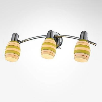 Евросвет 20055/3 хромтройные споты<br><br><br>S освещ. до, м2: 6<br>Тип лампы: Накаливания / энергосбережения / светодиодная<br>Тип цоколя: E14<br>Количество ламп: 3<br>Ширина, мм: 190<br>Длина, мм: 450<br>Высота, мм: 160<br>MAX мощность ламп, Вт: 40