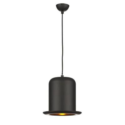 Светильник черная шляпа с золотом LuceSolara 2006/1SGОдиночные<br><br><br>S освещ. до, м2: 3<br>Тип товара: Светильник подвесной<br>Тип лампы: галогенная / LED - светодиодная<br>Тип цоколя: G9<br>Количество ламп: 1<br>MAX мощность ламп, Вт: 40<br>Диаметр, мм мм: 250<br>Длина цепи/провода, мм: 700<br>Высота, мм: 450 - 1200<br>Поверхность арматуры: матовый<br>Оттенок (цвет): черный золотой<br>Цвет арматуры: черный