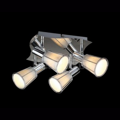 Светильник Евросвет 20079/4 хромС 4 лампами<br>Светильники-споты – это оригинальные изделия с современным дизайном. Они позволяют не ограничивать свою фантазию при выборе освещения для интерьера. Такие модели обеспечивают достаточно качественный свет. Благодаря компактным размерам Вы можете использовать несколько спотов для одного помещения. <br>Интернет-магазин «Светодом» предлагает необычный светильник-спот Евросвет 20079/4 по привлекательной цене. Эта модель станет отличным дополнением к люстре, выполненной в том же стиле. Перед оформлением заказа изучите характеристики изделия. <br>Купить светильник-спот Евросвет 20079/4 в нашем онлайн-магазине Вы можете либо с помощью формы на сайте, либо по указанным выше телефонам. Обратите внимание, что мы предлагаем доставку не только по Москве и Екатеринбургу, но и всем остальным российским городам.<br><br>S освещ. до, м2: 10<br>Тип лампы: накал-я - энергосбер-я<br>Тип цоколя: E14<br>Количество ламп: 4<br>Ширина, мм: 380<br>MAX мощность ламп, Вт: 40<br>Длина, мм: 380<br>Высота, мм: 120<br>Цвет арматуры: серебристый